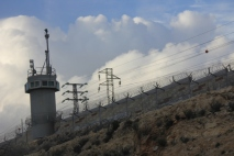 Israel - Pagar pembatas Palestina dgn Israel