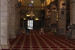 Jerusalem - di dalam Masjidil Aqsa