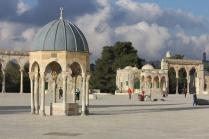 Jerusalem - Halaman Masjidil Aqsa