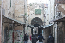 Jerusalem - Lorong menuju Masjidi Aqsa