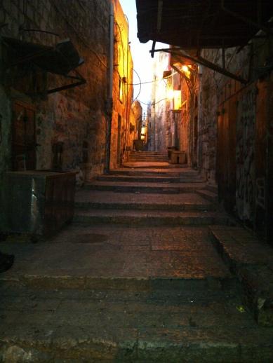 Jerusalem - Lorong menuju Masjidil Aqsa 1