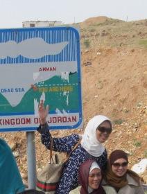 Jordan Dead Sea - tempat terendah